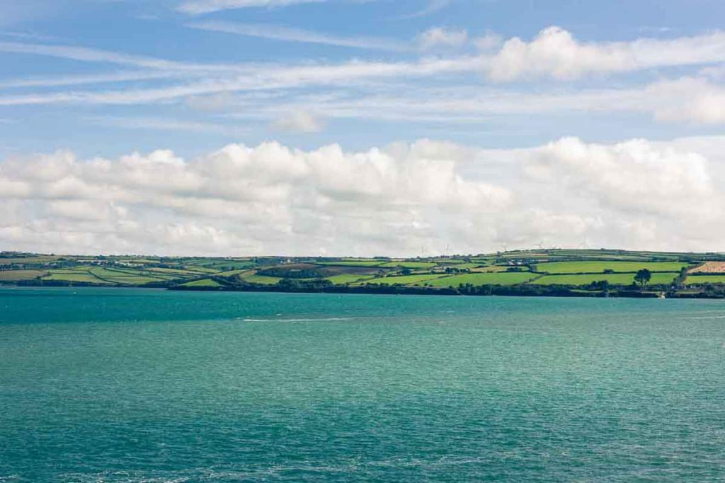The stunning view of the Camel Estuary from Greens of Padstow
