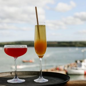 Cocktails in Cornwall