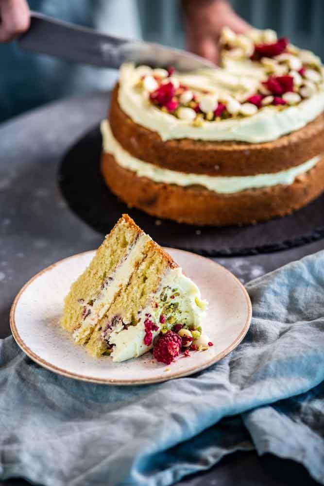 Cake at Greens