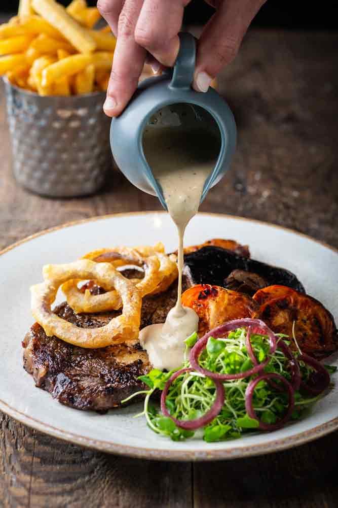 Rump Steak at Greens