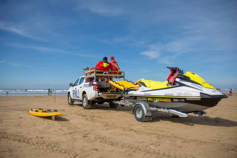 Beach Safety - Lifeguards in Cornwall