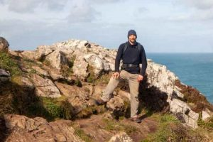 Sam walks the South West Coast Path for Charity